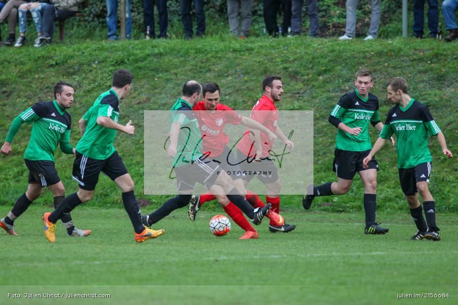 Oliver Babkin, 18.10.2015, Fussball, Würzburg, A-Klasse Gr. 5, DJK Wombach, FC Germania Ruppertshütten - Bild-ID: 2156684