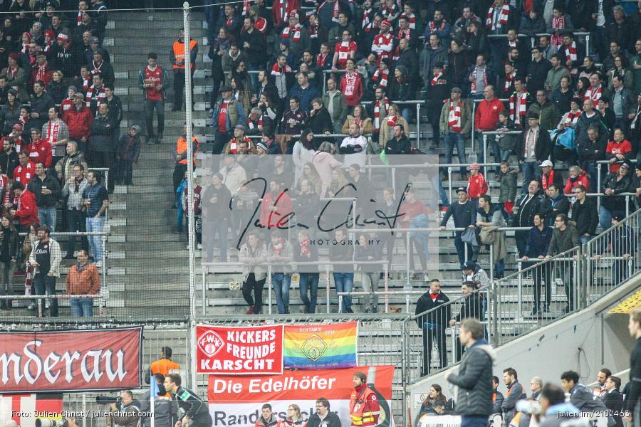Die Edelhöfer, Kickers Freunde Karscht, Fans, Allianz Arena, 17.03.2017, Fussball, 2. Bundesliga, FC Würzburger Kickers, TSV 1860 München - Bild-ID: 2182463