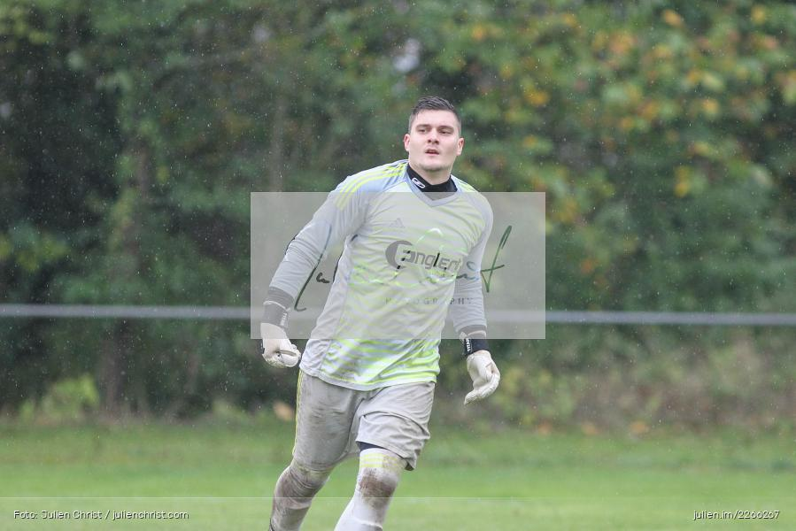 Jonas Drach, Kreisliga TBB, 06.10.2019, TSV Gerchsheim, Kickers DHK Wertheim - Bild-ID: 2266267