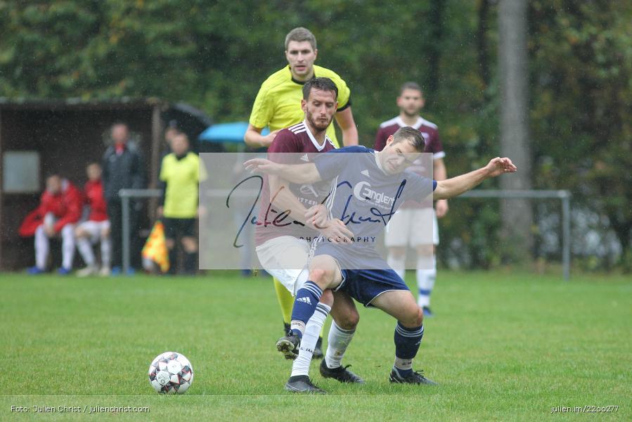 Dirk Schmidt, Andreas Henneberger, Kreisliga TBB, 06.10.2019, TSV Gerchsheim, Kickers DHK Wertheim - Bild-ID: 2266277