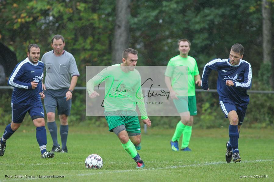 Nils Lotter, Marc Strauß, 06.10.2019, Kreisliga B TBB, SpG TSV Dittwar/FC Heckfeld, Kickers DHK Wertheim 2 - Bild-ID: 2266311