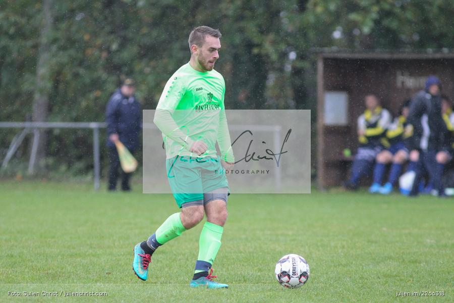 Nils Lotter, 06.10.2019, Kreisliga B TBB, SpG TSV Dittwar/FC Heckfeld, Kickers DHK Wertheim 2 - Bild-ID: 2266318