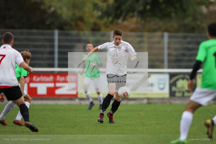 Paul Häfner, 19.10.2019, U19 Bezirksoberliga Unterfranken, (SG) TSV/DJK Wiesentheid, (SG) FV Karlstadt - Bild-ID: 2269241