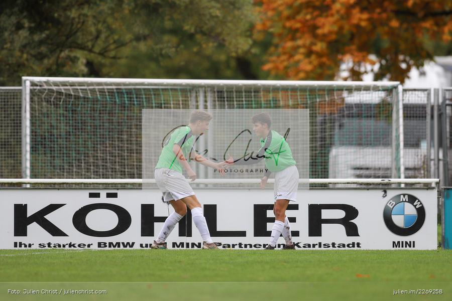 Noah Edelhäuser, 19.10.2019, U19 Bezirksoberliga Unterfranken, (SG) TSV/DJK Wiesentheid, (SG) FV Karlstadt - Bild-ID: 2269258