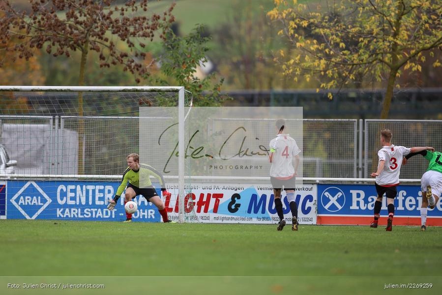Moritz Seitzer, 19.10.2019, U19 Bezirksoberliga Unterfranken, (SG) TSV/DJK Wiesentheid, (SG) FV Karlstadt - Bild-ID: 2269259