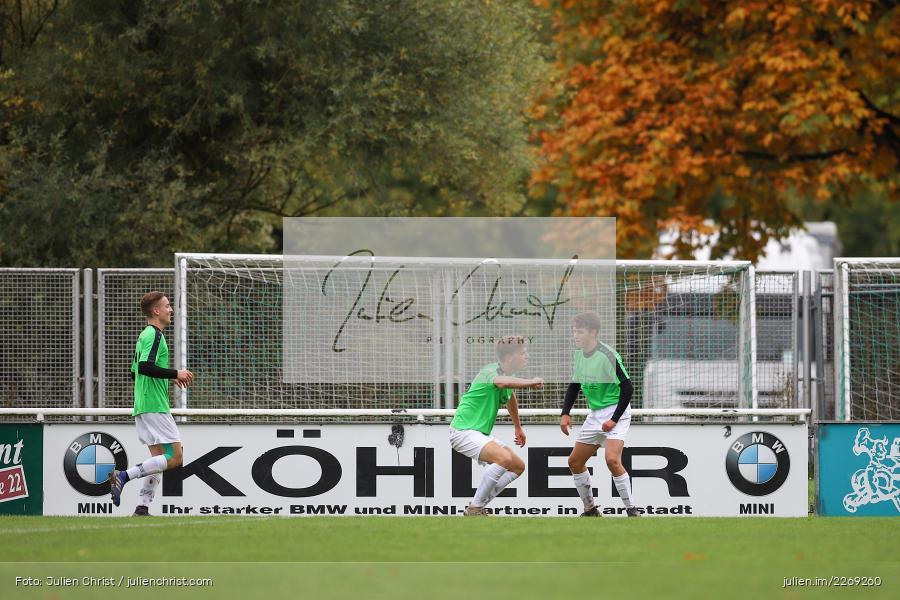 Jakob Fischer, Noah Edelhäuser, 19.10.2019, U19 Bezirksoberliga Unterfranken, (SG) TSV/DJK Wiesentheid, (SG) FV Karlstadt - Bild-ID: 2269260