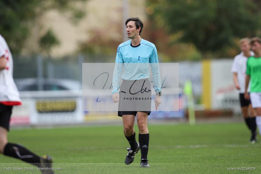 Frederic Janßen, 19.10.2019, U19 Bezirksoberliga Unterfranken, (SG) TSV/DJK Wiesentheid, (SG) FV Karlstadt - Bild-ID: 2269279