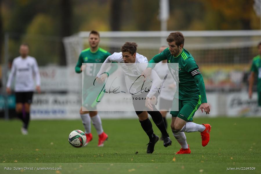 Bernhard Neumayer, David Machau, 19.10.2019, Bayernliga Nord, DJK Ammerthal, TSV Karlburg - Bild-ID: 2269309