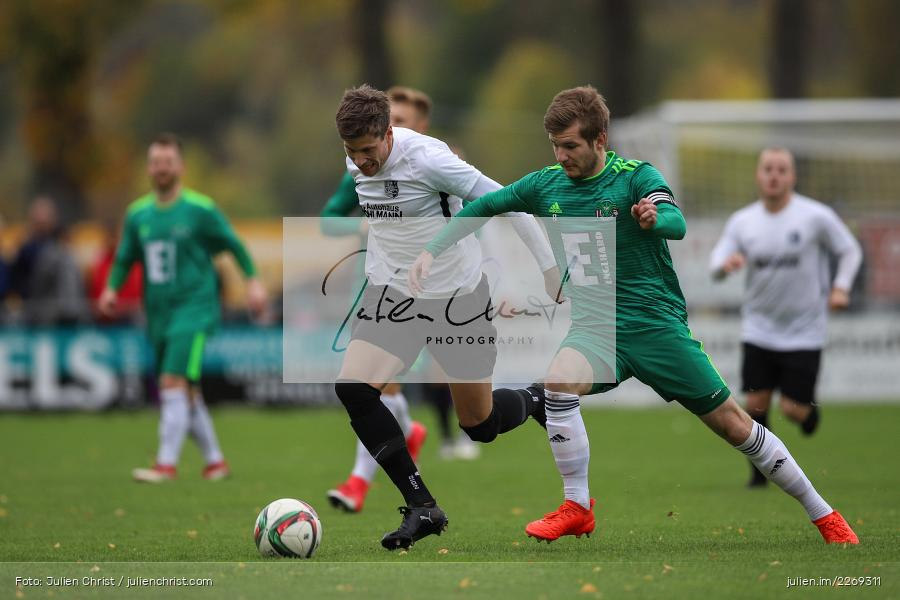 Bernhard Neumayer, David Machau, 19.10.2019, Bayernliga Nord, DJK Ammerthal, TSV Karlburg - Bild-ID: 2269311
