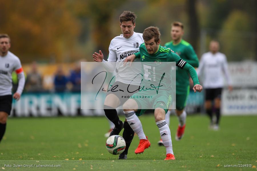 Bernhard Neumayer, David Machau, 19.10.2019, Bayernliga Nord, DJK Ammerthal, TSV Karlburg - Bild-ID: 2269313