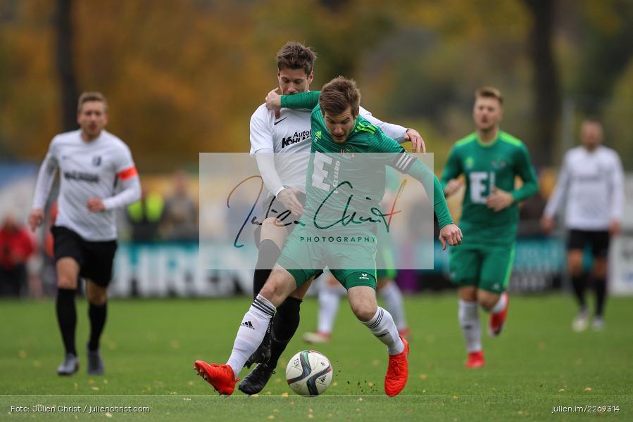Bernhard Neumayer, David Machau, 19.10.2019, Bayernliga Nord, DJK Ammerthal, TSV Karlburg - Bild-ID: 2269314