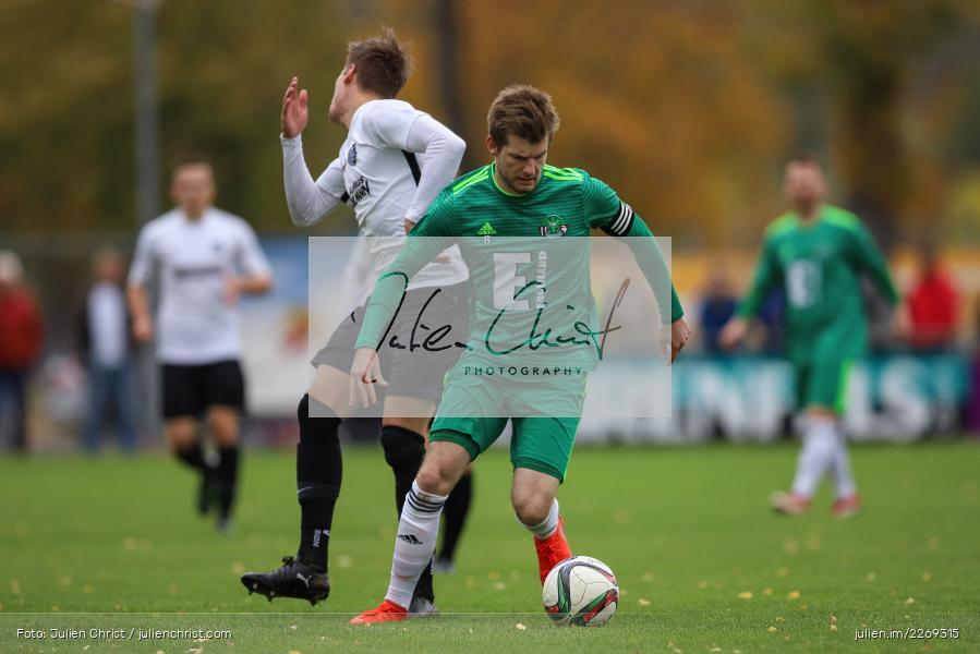 Bernhard Neumayer, David Machau, 19.10.2019, Bayernliga Nord, DJK Ammerthal, TSV Karlburg - Bild-ID: 2269315