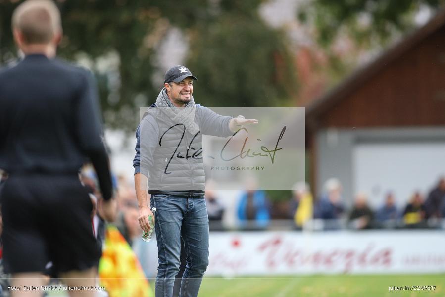 Dominik Haußner, 19.10.2019, Bayernliga Nord, DJK Ammerthal, TSV Karlburg - Bild-ID: 2269317