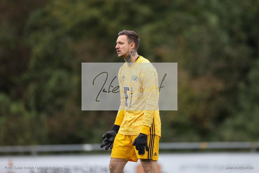 Christopher Sommerer, 19.10.2019, Bayernliga Nord, DJK Ammerthal, TSV Karlburg - Bild-ID: 2269320