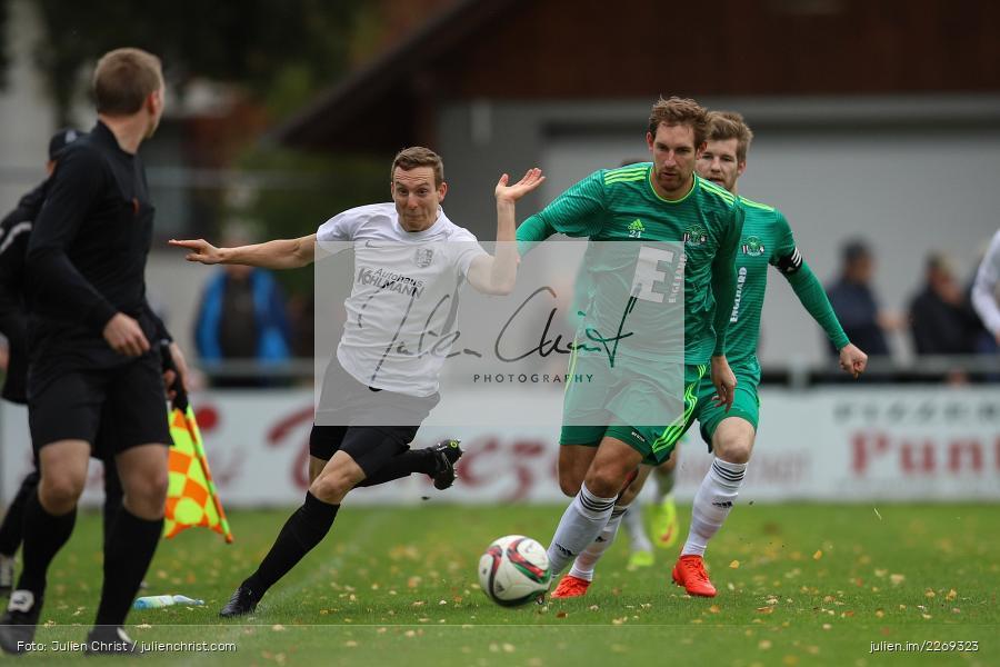 Mario Zitzmann, Sebastian Fries, 19.10.2019, Bayernliga Nord, DJK Ammerthal, TSV Karlburg - Bild-ID: 2269323