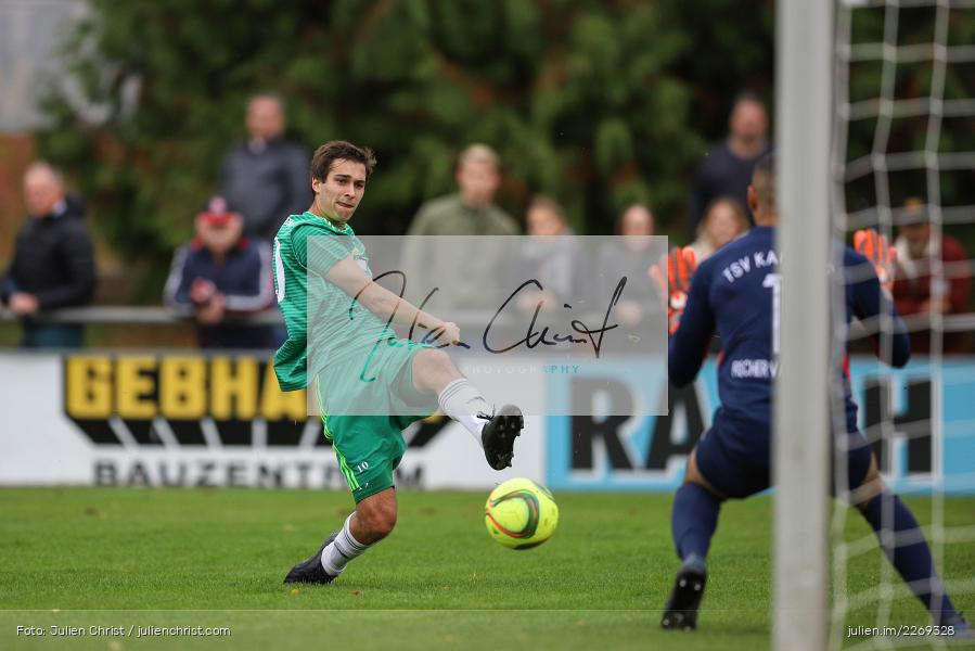 Christian Schrödl, Marvin Fischer-Vallecilla, 19.10.2019, Bayernliga Nord, DJK Ammerthal, TSV Karlburg - Bild-ID: 2269328