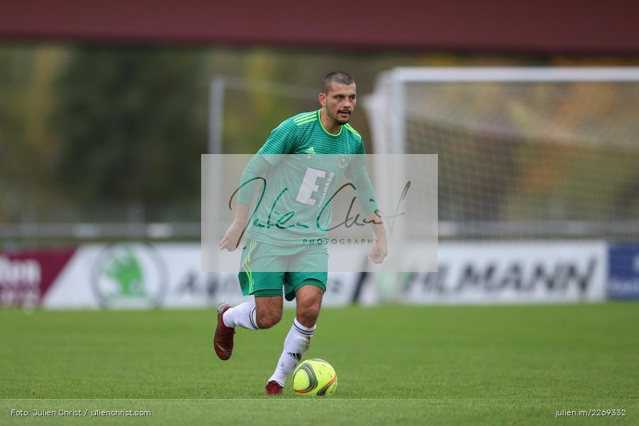 Ferdinand Buchner, 19.10.2019, Bayernliga Nord, DJK Ammerthal, TSV Karlburg - Bild-ID: 2269332