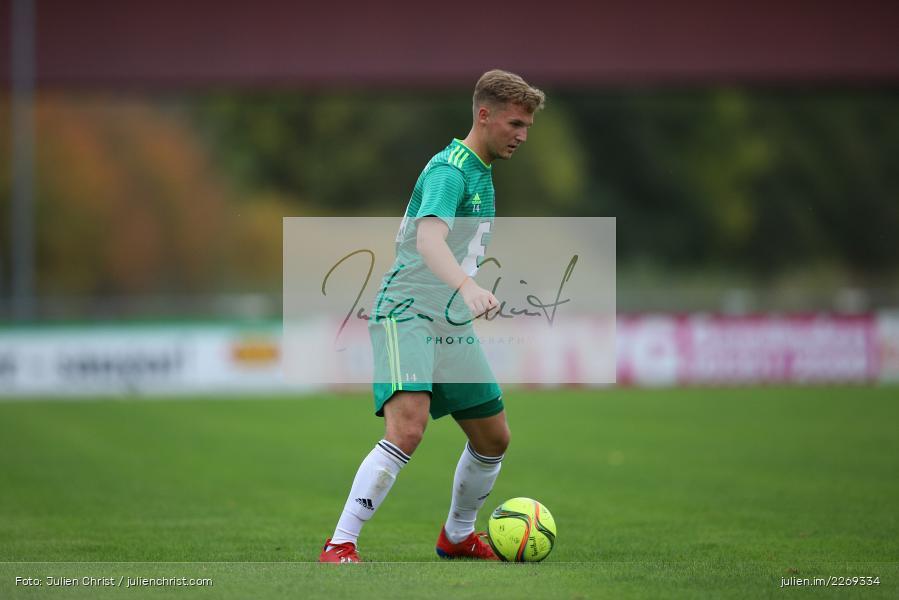 Jannik Kiebler, 19.10.2019, Bayernliga Nord, DJK Ammerthal, TSV Karlburg - Bild-ID: 2269334
