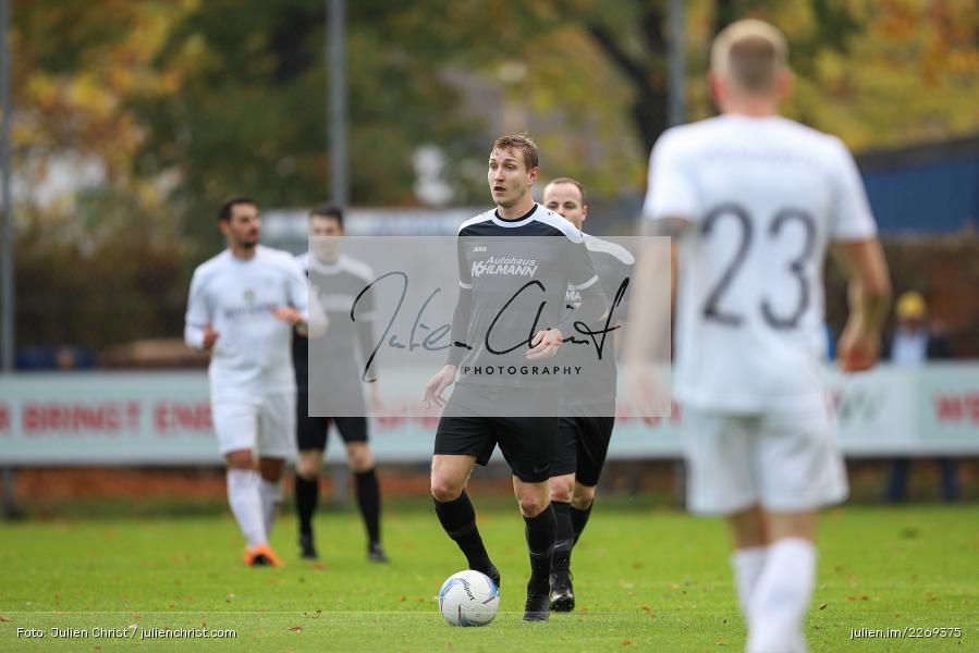 Marco Schiebel, 02.11.2019, Bayernliga Nord, TSV Karlburg, Würzburger FV - Bild-ID: 2269375