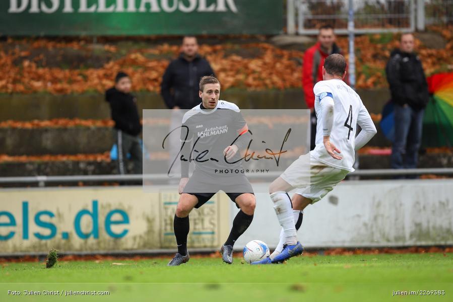 Tim Lorenz, Manuel Römlein, 02.11.2019, Bayernliga Nord, TSV Karlburg, Würzburger FV - Bild-ID: 2269383