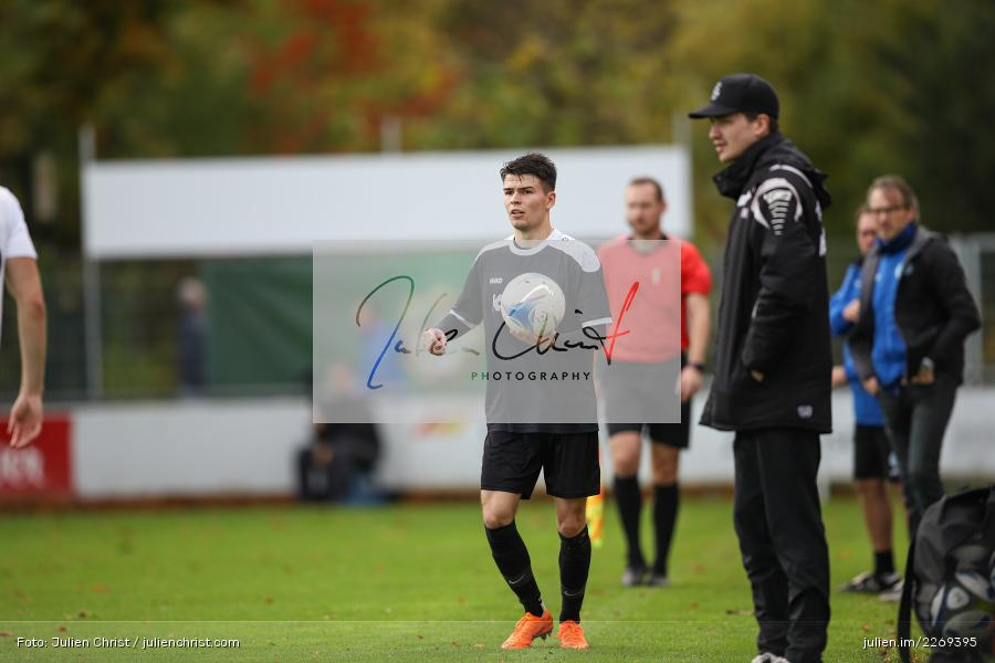 Jan Wabnitz, 02.11.2019, Bayernliga Nord, TSV Karlburg, Würzburger FV - Bild-ID: 2269395