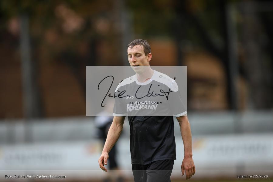 Sebastian Fries, 02.11.2019, Bayernliga Nord, TSV Karlburg, Würzburger FV - Bild-ID: 2269398