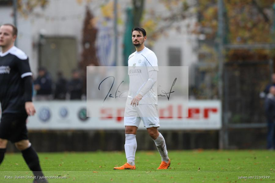 Cristian Dan, 02.11.2019, Bayernliga Nord, TSV Karlburg, Würzburger FV - Bild-ID: 2269399