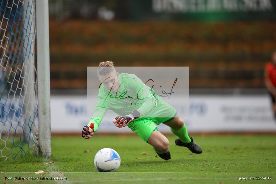 Julian Koch, 02.11.2019, Bayernliga Nord, TSV Karlburg, Würzburger FV - Bild-ID: 2269403