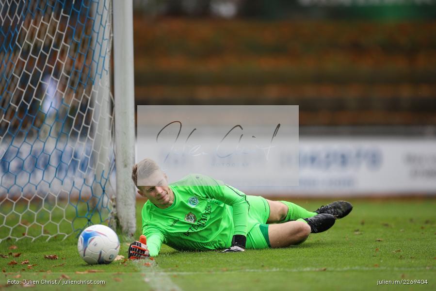 Julian Koch, 02.11.2019, Bayernliga Nord, TSV Karlburg, Würzburger FV - Bild-ID: 2269404
