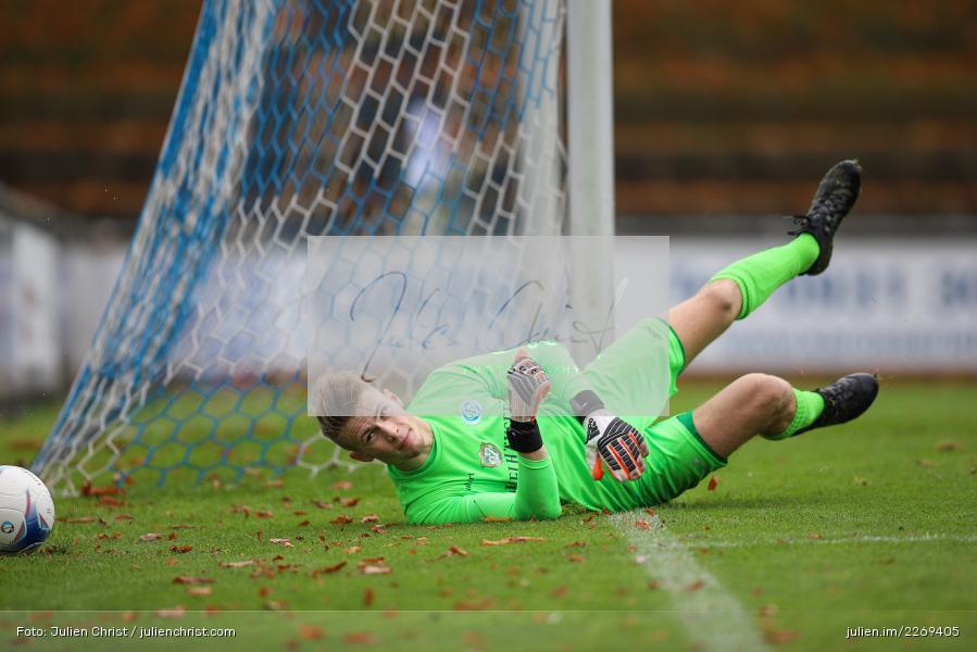 Julian Koch, 02.11.2019, Bayernliga Nord, TSV Karlburg, Würzburger FV - Bild-ID: 2269405