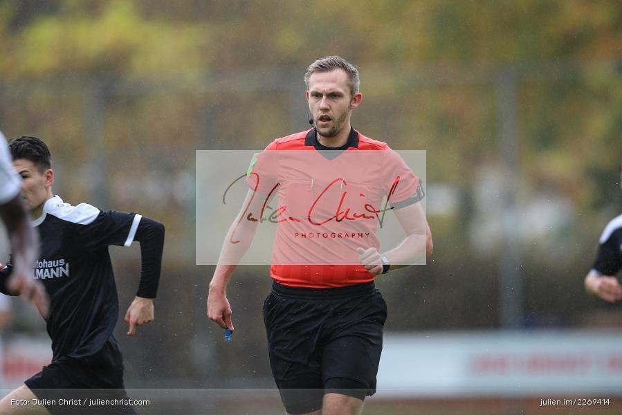 Patrick Krettek, 02.11.2019, Bayernliga Nord, TSV Karlburg, Würzburger FV - Bild-ID: 2269414
