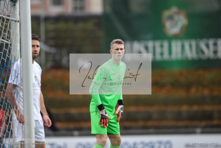 Julian Koch, 02.11.2019, Bayernliga Nord, TSV Karlburg, Würzburger FV - Bild-ID: 2269416