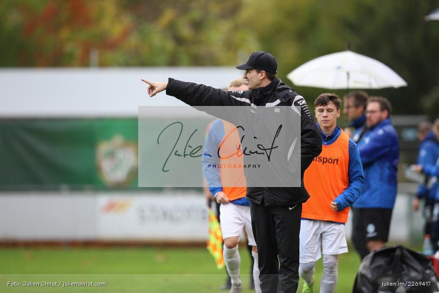 Markus Köhler, 02.11.2019, Bayernliga Nord, TSV Karlburg, Würzburger FV - Bild-ID: 2269417