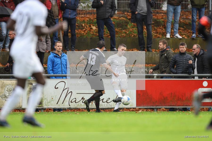 Dennie Michel, Andreas Köhler, 02.11.2019, Bayernliga Nord, TSV Karlburg, Würzburger FV - Bild-ID: 2269421