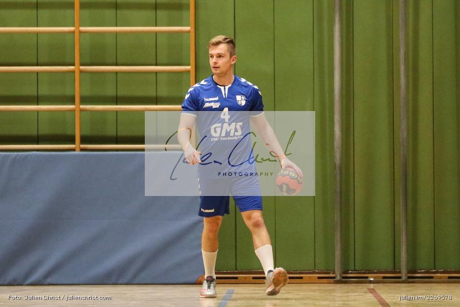 Adrian Schwab, Bezirksliga Staffel Nord, 03.11.2019, TV Gerolzhofen, TSV Karlstadt - Bild-ID: 2269578