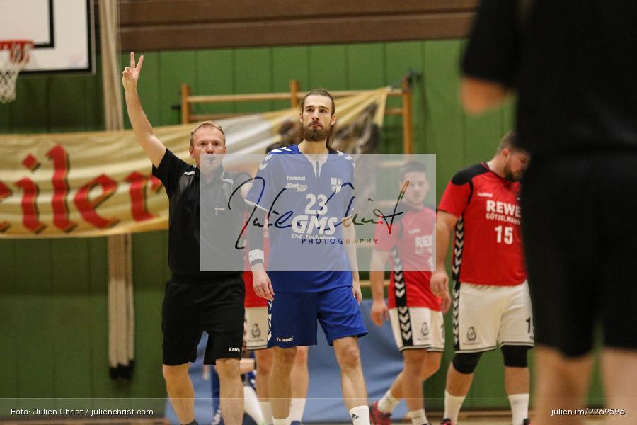 Moritz Rösner, Bezirksliga Staffel Nord, 03.11.2019, TV Gerolzhofen, TSV Karlstadt - Bild-ID: 2269596