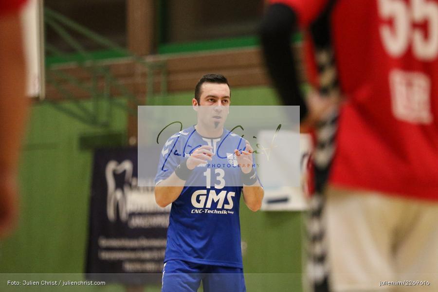 Felix Fuchs, Bezirksliga Staffel Nord, 03.11.2019, TV Gerolzhofen, TSV Karlstadt - Bild-ID: 2269616