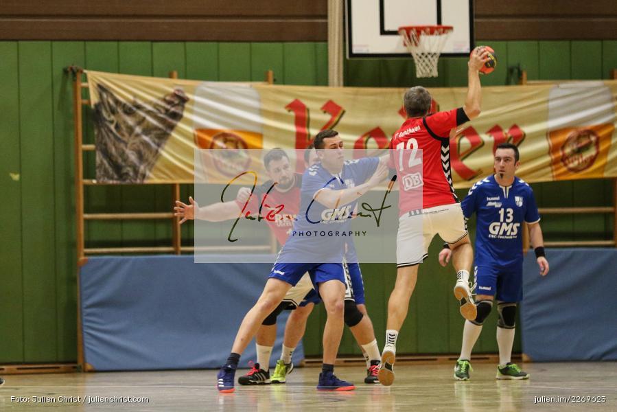 Christian Schön, Blattner, Bezirksliga Staffel Nord, 03.11.2019, TV Gerolzhofen, TSV Karlstadt - Bild-ID: 2269623