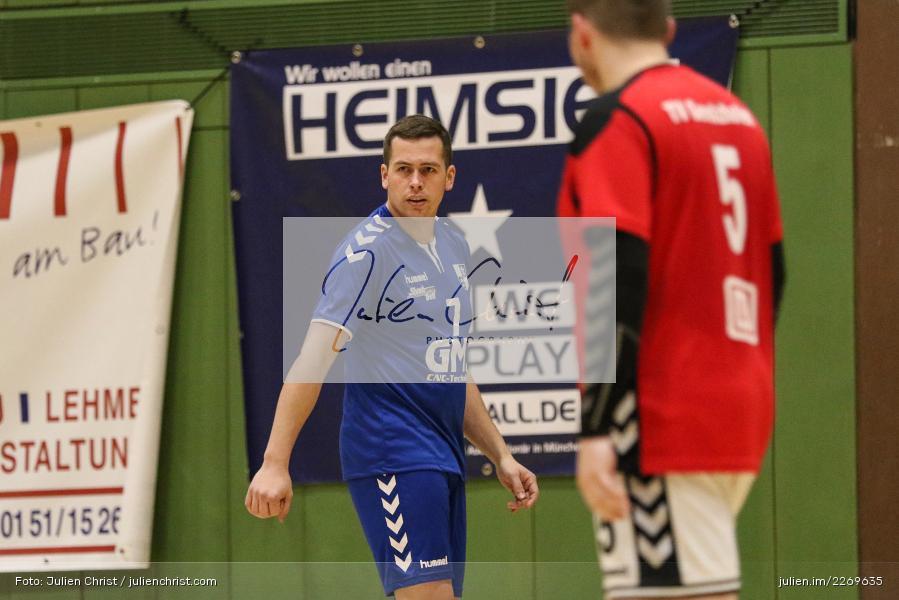 Christian Schön, Bezirksliga Staffel Nord, 03.11.2019, TV Gerolzhofen, TSV Karlstadt - Bild-ID: 2269635