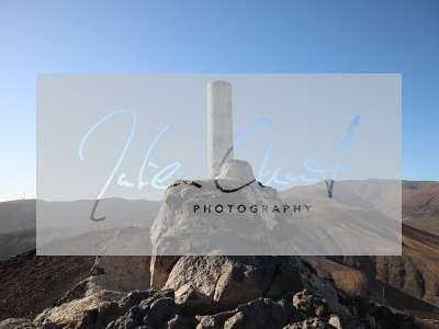Der Gipfel des Monte Aguda