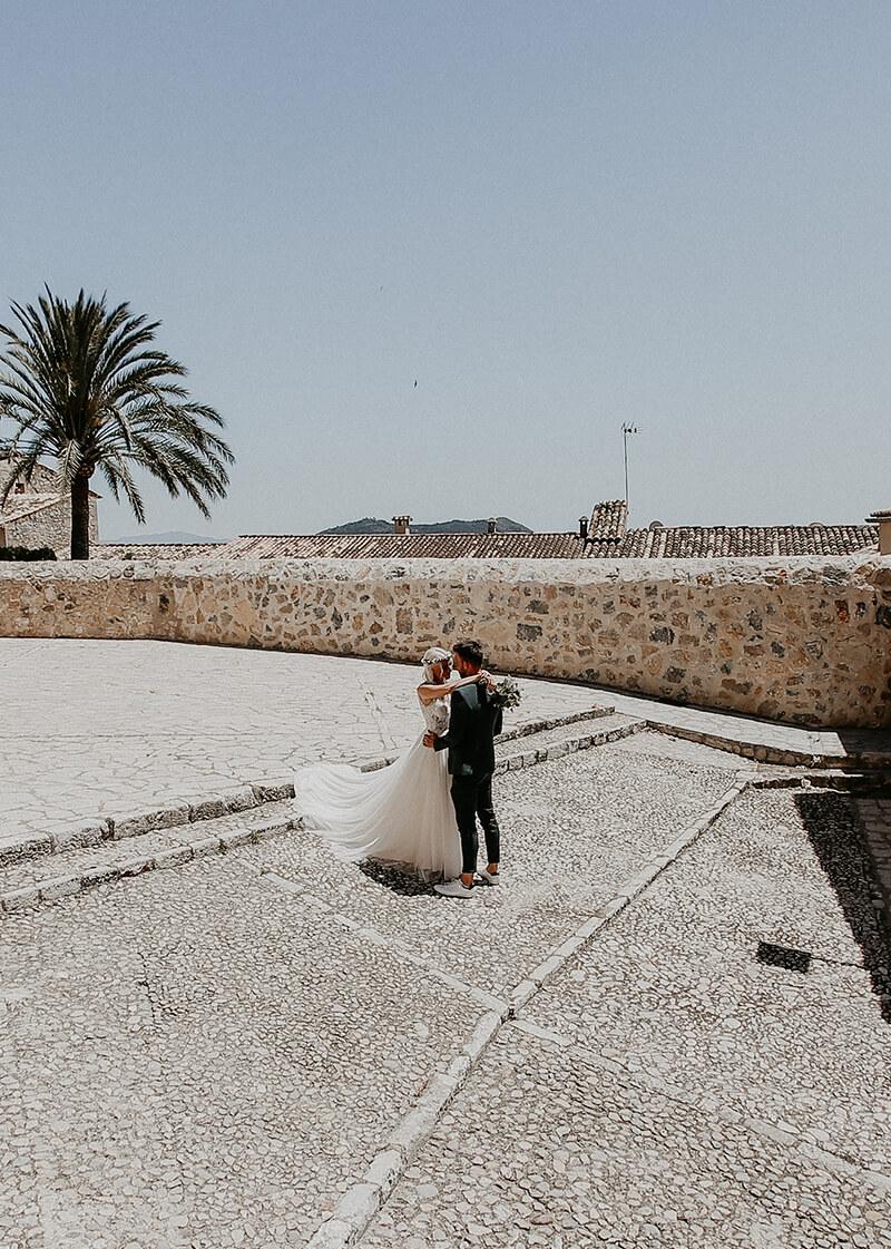 Janine + Johannes: Finca-Wedding in der Inselmitte von Mallorca