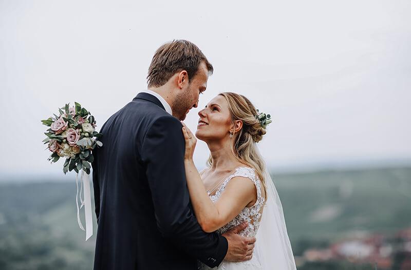 Jasmin + Sebastian: Romantik auf der Vogelsburg Volkach