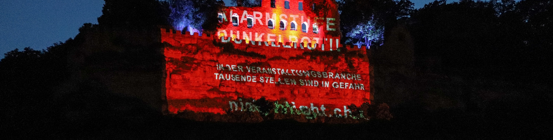 Night of Light 2020 in Karlstadt